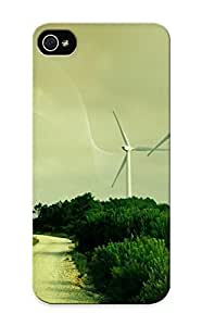 Ajtzey-6035-bdivpjr Special Design Back Wind Turbines Phone Case Cover For Iphone 5/5s