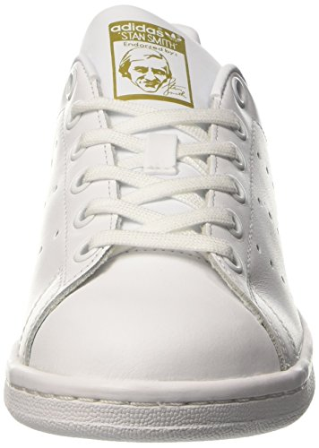 White Unisex Trainers EU 21 Smith Kids' White White Gold White Footwear Footwear Metallic adidas Stan 7xqFUd17