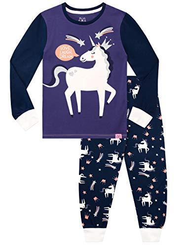 Harry Bear Meisjes Pyjamas Nauwsluitend Fit Eenhoorn
