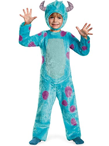 Monsters University Kids Deluxe Sulley Costumes (Sulley Toddler Deluxe Toddler Costume - Toddler Medium)