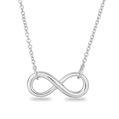Classic infinity symbol necklace