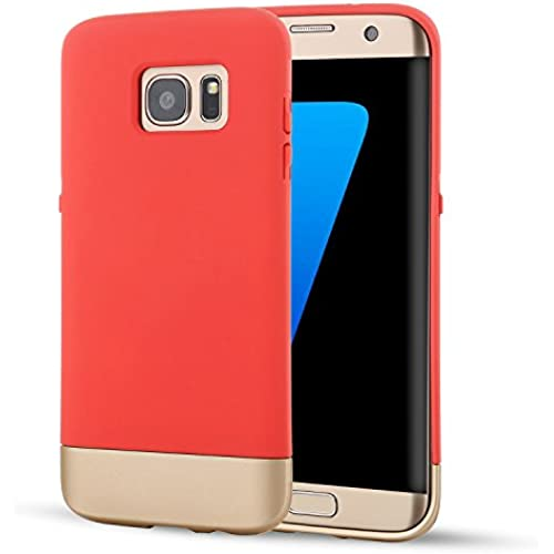 Samsung Galaxy S7 Case, SOUNDMAE Dual Layer Hybrid Microfiber & PC Anti-impact Shockproof Antiskid Splice Nice Sales