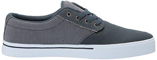 de Skateboarding Hombre 2 Etnies Lona 024 Black Gris Zapatillas grey de Jameson Silver Eco qpACaw4xg