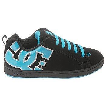 Graffik Turquoise DC Men's Skate Court Shoe Carbon 7xRSqavw