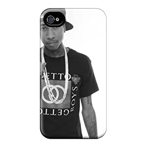 Apple Iphone 4/4s AWC8925PfyS Support Personal Customs Lifelike Tyga Skin Shock-Absorbing Hard Phone Case -AshtonWells