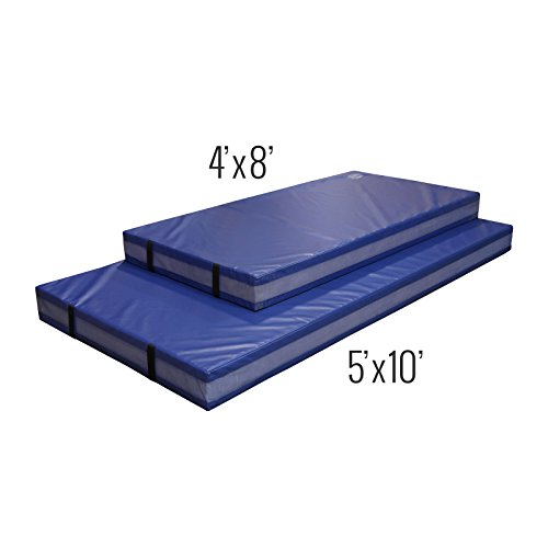 (IncStores Landing Mats For Gymnastics, Practice, Martial Arts, Wrestling, MMA, Impact and Training (5' x 10' x 12