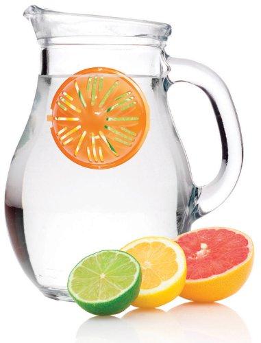 Jokari Healthy Steps Water Infuser, Single Unit, Colors Vary (229242)