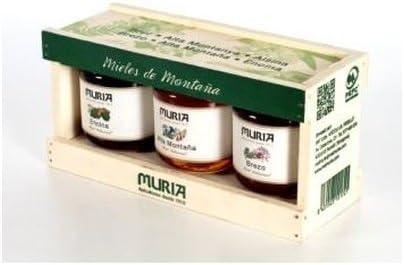 Pack Miel de Montaña 3 botes de miel de 250 gr de Muria: Amazon.es: Salud y cuidado personal