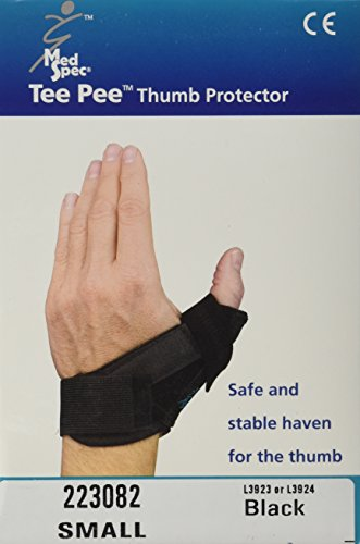 Med Spec Tee Pee Thumb Protector, Black - Small