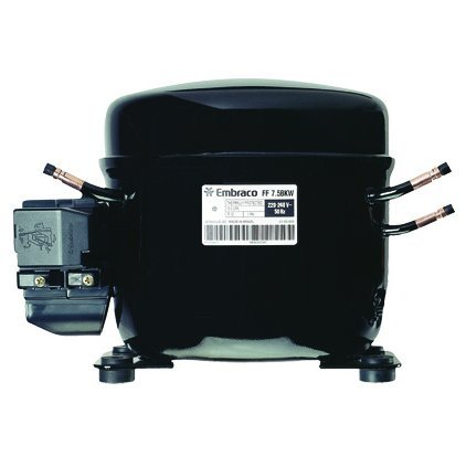Embraco FF7.5HBK1 Replacement Refrigeration Compressor 1/5 HP R-134A R134A ()
