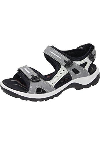 Ecco Damen Sandale Grau