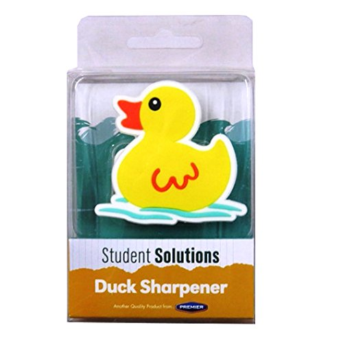 Yellow Duck Pencil Sharpener, by Premier 84777/PD7