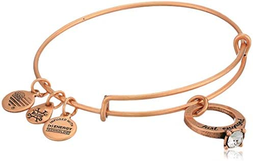 Alex and Ani Women's Just Engaged Bangle Bracelet
