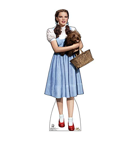 - Advanced Graphics Dorothy Holding Toto Life Size Cardboard Cutout Standup - The Wizard of Oz 75th Anniversary (1939 Film)