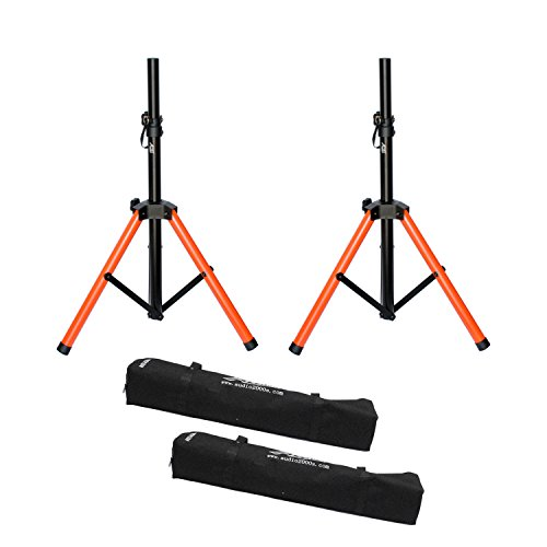 Audio 2000s Short Heavy Duty Speaker Stand with Canvas Carrying Bag AST439A (Speaker Stand Carrying Bag)