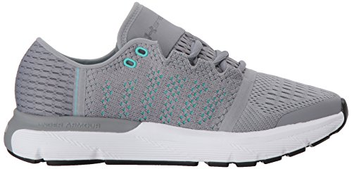 Speedform Grigio Scarpe UA Steel Vent Gemini W Donna Running 100 Armour Under 7wtxnHzxC
