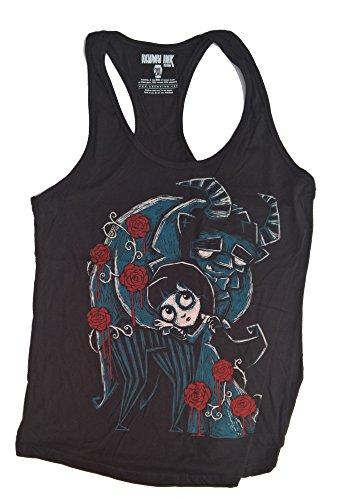 AKUMU INK Beauty And The Beast Damen Tank Top Grösse L