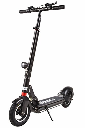 Freego Folding Electric Kick Scooter, 3 Block Height and Speed, Double Shock...