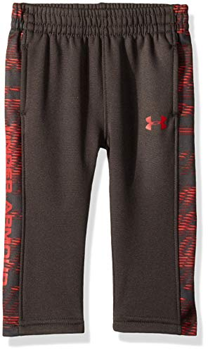 Under Armour Baby Boys Fleece Pant, Charcoal Travel 18 Months ()