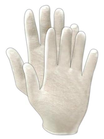 Magid TouchMaster 651J Cotton Lisle Inspection Glove, Men's Jumbo (Pack of 60 Pairs)
