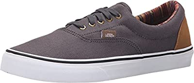 Vans Era Sneakers (Indo Pacific) Dark Shadow/WHT Mens 7