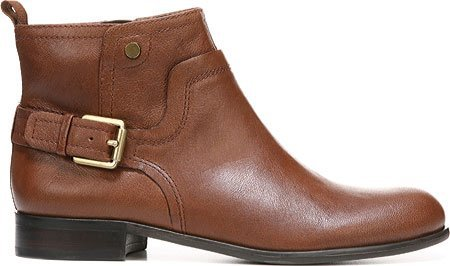Franco Sarto Womens Marta Ankle Boot Rustic Brown Leather jZOmK