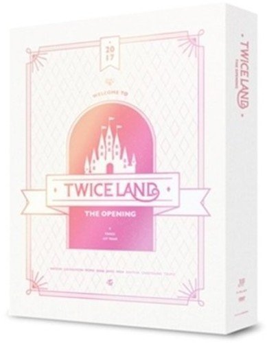 DVD : TWICE - Twiceland: The Opening Concert (With Book, Asia - Import, NTSC Region 1,3)