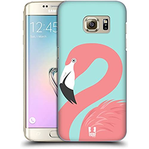 Head Case Designs Pink Fashion Flamingos Hard Back Case for Samsung Galaxy S7 Sales