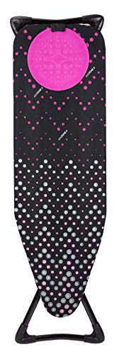 Minky Homecare Hot Spot Pro Ironing Board, 48' x 15', Black Multi
