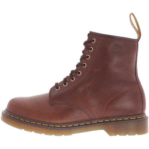 Dr. Martens 1460 8 Eye Boot BROWN 11822212 - Botas de cuero unisex Marrón