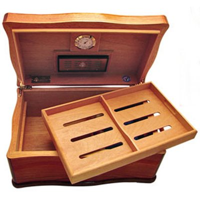Cuban Crafters American Emblems Limited Edition White House Humidor, 120 count