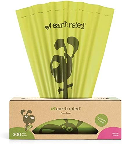 Earth Rated POEP003D Borse di Terra a Biodegradabile Profumato alla Lavanda Dog Rifiuti