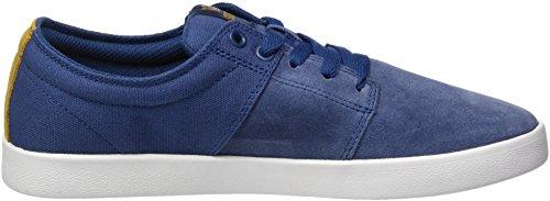 Ii Stacks Sneaker Supra white Blue Blau Herren x7A5S5OwqE