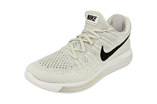 NIKE Lunarepic Low Flyknit 2 Mens Running Trainers 863779 Sneakers Shoes (UK 6.5 US 7.5 EU 40.5, White Black Pure...