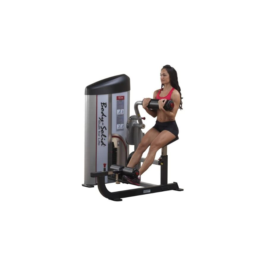 Body Solid S2ABB/1 Pcl2 Ab/Back 160lb Stack Machine
