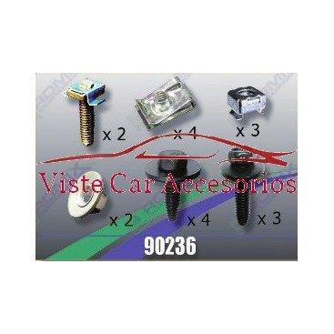 Rezaw Plast Tornilleria y Clips para Cubrecarter 90236