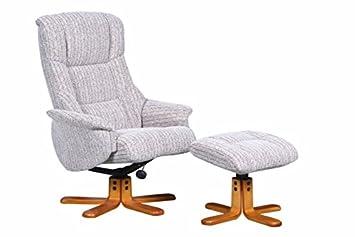 The Shangri-La - Chenille Fabric Swivel Recliner chair in Wheat  sc 1 st  Amazon UK & The Shangri-La - Chenille Fabric Swivel Recliner chair in Wheat ... islam-shia.org