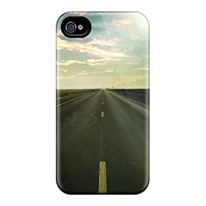 High Quality DzFnErD5210nitSM Solitary Road Tpu Case For Iphone 4/4s