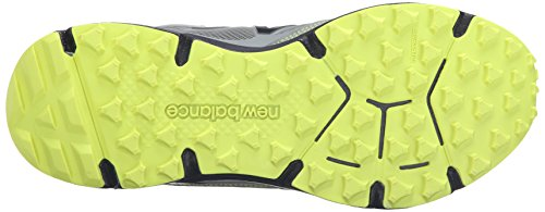 New Balance Mens 910v3 Trail Running Neutro Grigio / Giallo