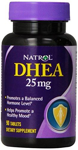 Natrol DHEA 25mg Tablets 90 Count