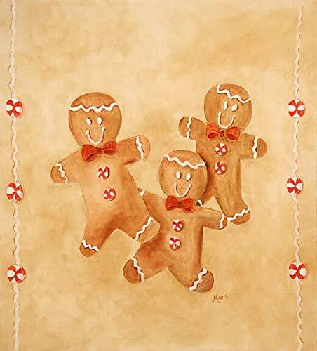Gingerbread Men Custom Dishwasher Cover ()