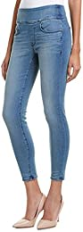 Womens The Signature Waist Hunter Ankle Skinny Leg Blue