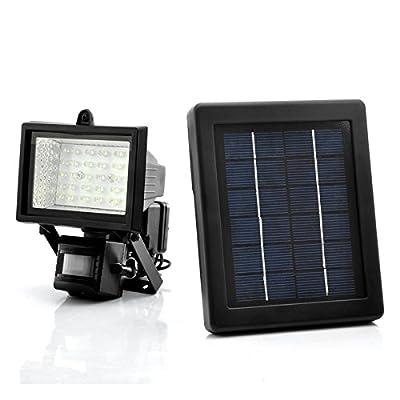 Generic Solar Powered Led Flood Light - Motion Detection, Weatherproof