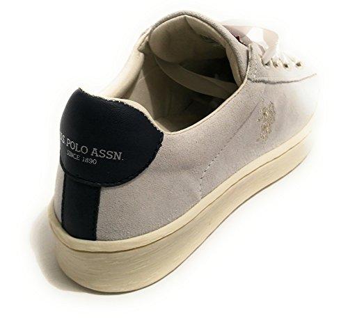 Ice US Pelle Scamosciata Tara Sneaker Modello Scarpe DS18UP10 Grigio Polo Donna RwqZRTB