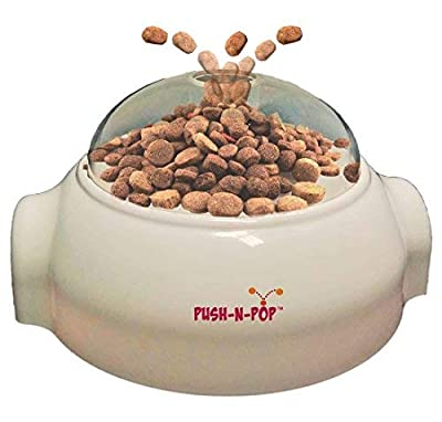 Interactive Slow Feeding Dog Food Dispenser