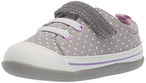(See Kai Run Girls' Stevie II INF First Walker Shoe Gray Dots 4 M US)