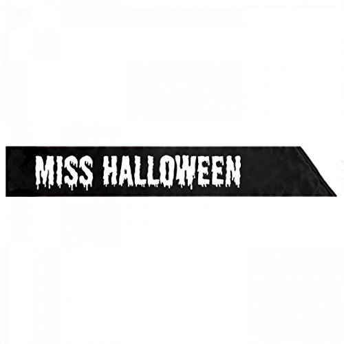 Miss Universe Pageant Costumes (Miss Halloween Costume Sash: Adult Satin Party Sash)