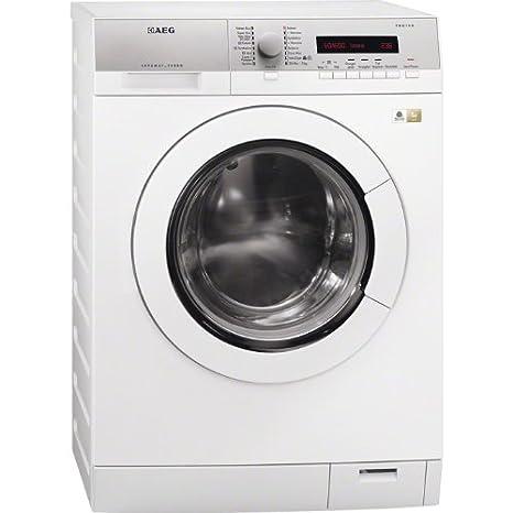 AEG L77685WD lavadora - Lavadora-secadora (Front-load, Independiente, Color blanco, 6 kg, 1600 RPM, A)