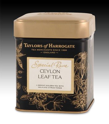 Ceylon White Tea - Taylors of Harrogate Special Rare Ceylon Loose Leaf, 3.53 Ounce Tin (Pack of 2)