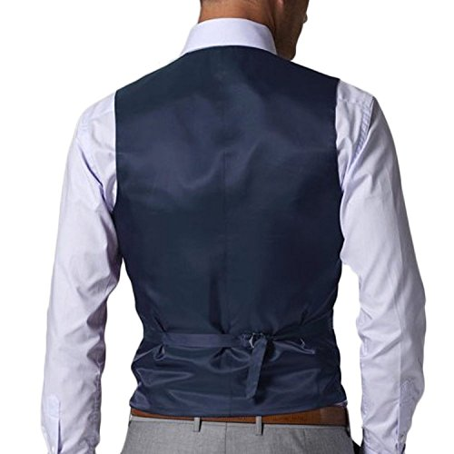 Love Dress Men's New Casual Slim Fit Vest Business Suits Three-piece L by Love To Dress (Image #4)